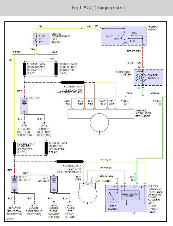 Thumb: 1989 F250 Alternator Wiring Diagram At Eklablog.co