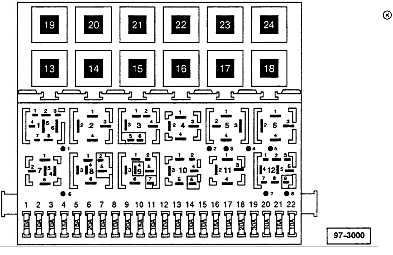 Fuse Panel Diagram: I Do Not Have a Cover for My Fuse Box, ... | 1997 Volkswagen Jetta Fuse Box Diagram |  | 2CarPros