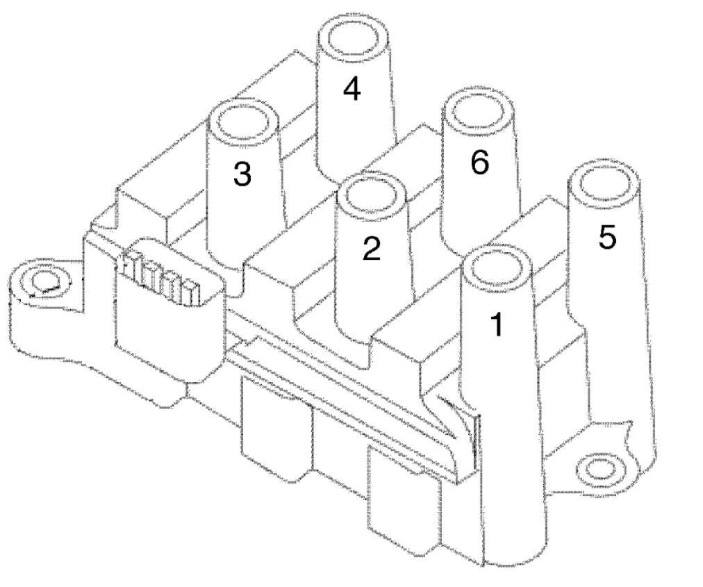 original 2005 ford 3 0 v6 plug wire diagram wiring diagrams ford 3.0 spark plug wire diagram at couponss.co