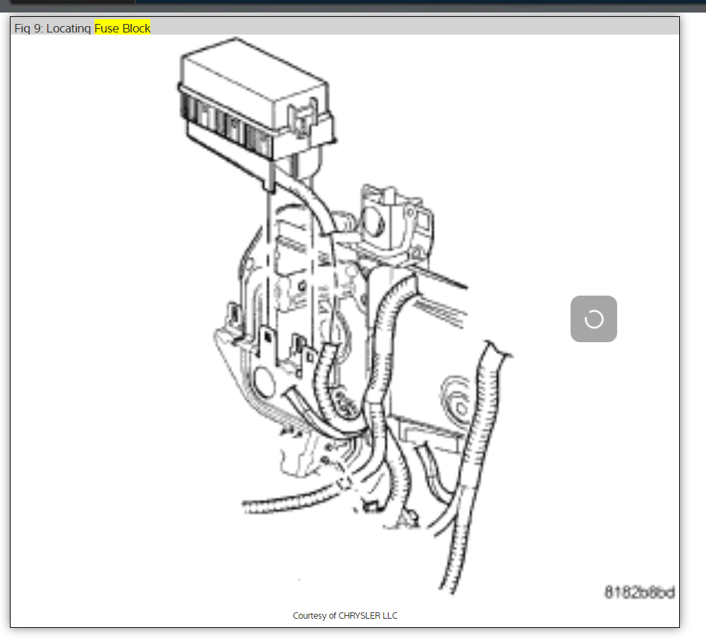 dodge caliber headlight wiring