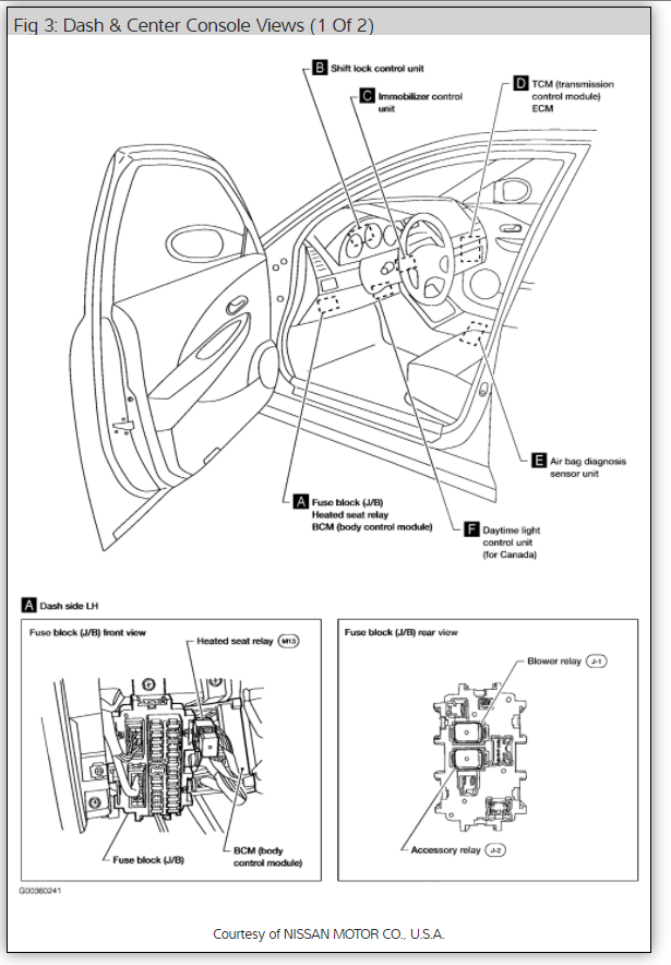 Fuel Pump Relay Where Can I Locate The For A 2006rh2carpros: Nissan Altima Fuel Pump Wiring Diagrams At Gmaili.net