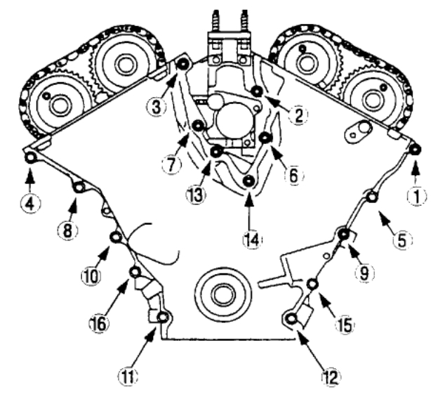 Timing Chain Diagram Timing Chain Diagram For 2000 Mazda Mpv