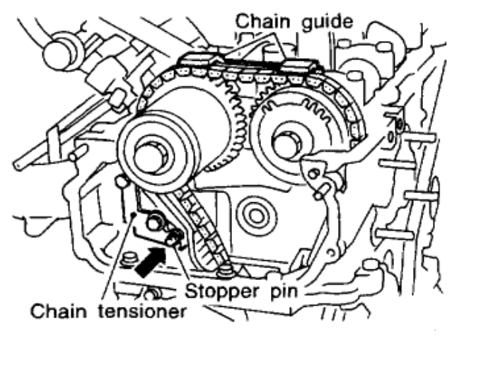 ford 2 3 timing belt marks