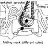 Thumb on 2001 Nissan Sentra 1 8 Timing Marks