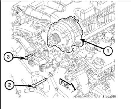 alternator replacement on my dodge journey how do i change my rh 2carpros com 2013 dodge journey engine diagram 2012 Dodge Journey Engine Mounts
