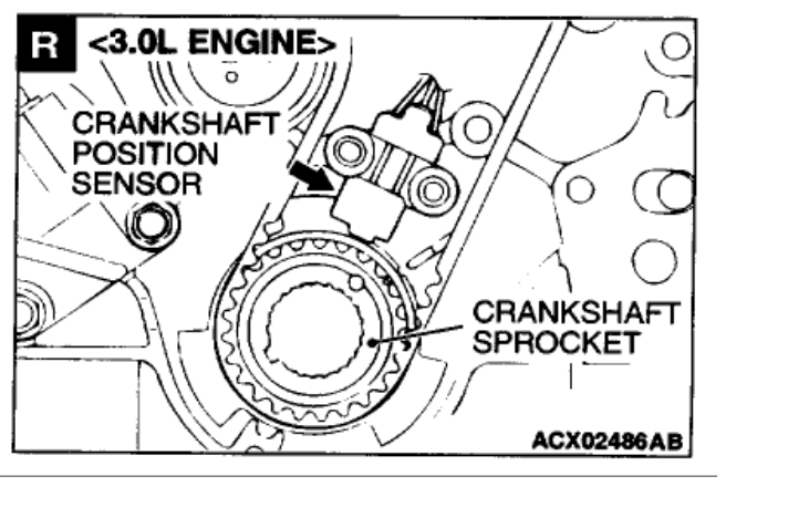 Crankshaft Position Sensor Location 6 Cyl Front Wheel Drive Rh2carpros: Crankshaft Position Sensor Location At Gmaili.net