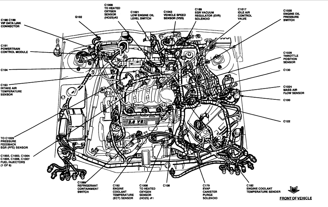 1999 Ford Taurus Engine Diagram Wiring Diagram Shop Provider Shop Provider Networkantidiscriminazione It