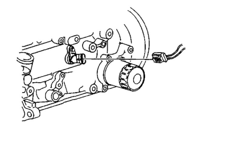 05 Pontiac Sunfire Crank Sensor