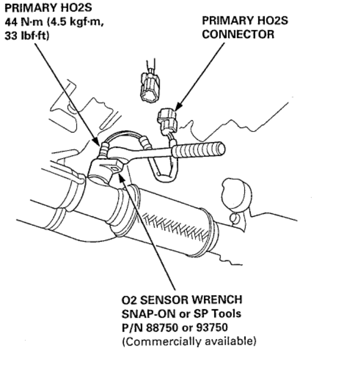 2004 acura rsx type s exhaust diagram