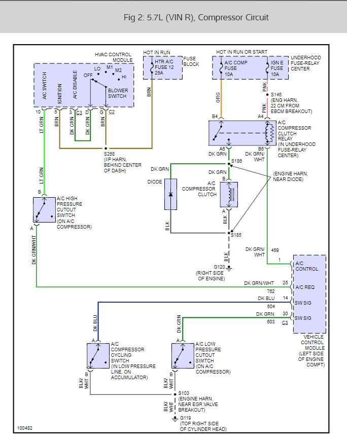 1995 Gmc A C Compressor Wiring Diagram 1995 Chevy