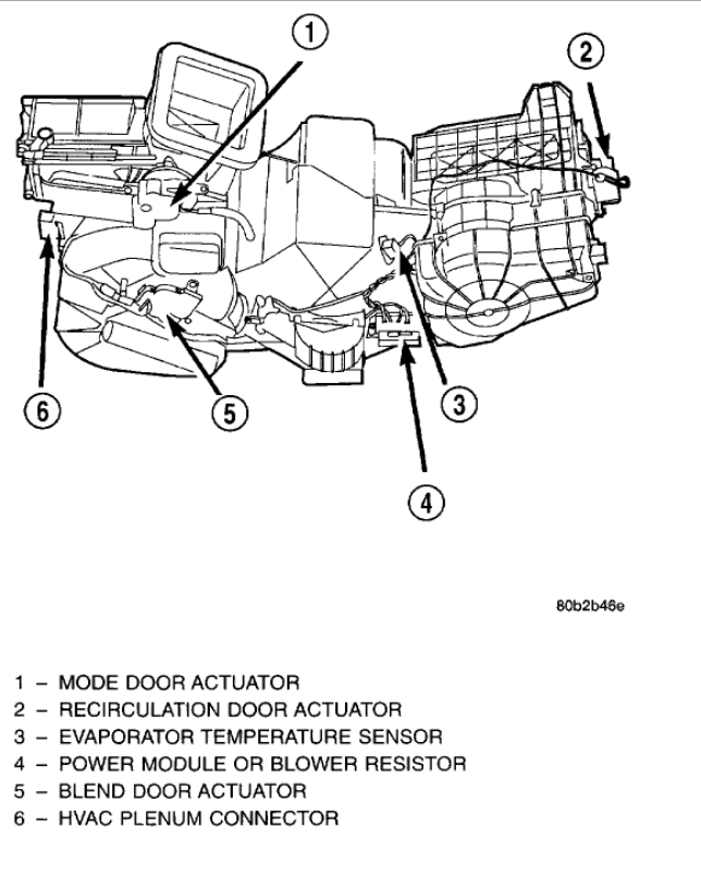 Replace Mode Door Actuator  I Need To Replace To The Mode