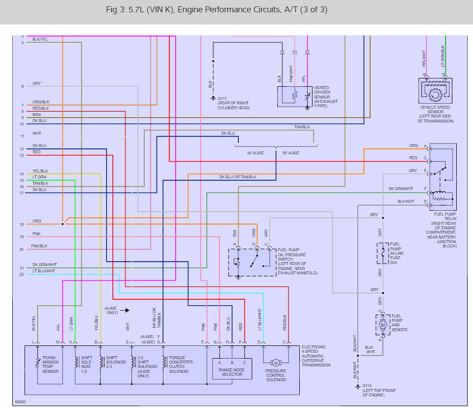No Fuel to TBI: V8 Two Wheel Drive Manual 170,000 Miles ... Gm Ecm Wiring Diagram on