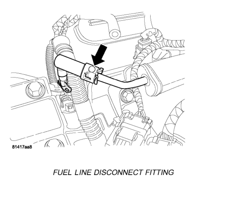 Fuel Pressure Testing Connection I Am Wanting To Do A Fuel
