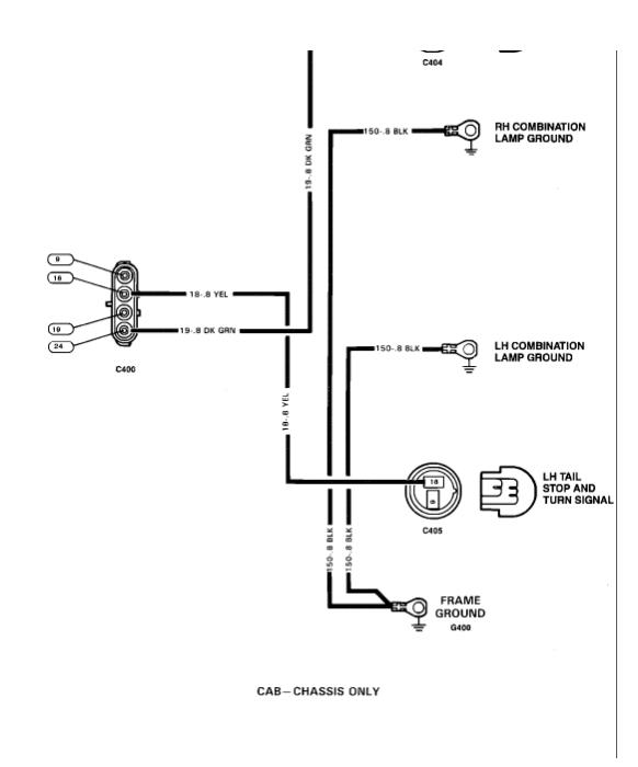 No Turn Signals Electrical Problem 1989 Chevy Truck V8 Four Wheelrh2carpros: Basic Turn Signal Wiring Diagram At Gmaili.net