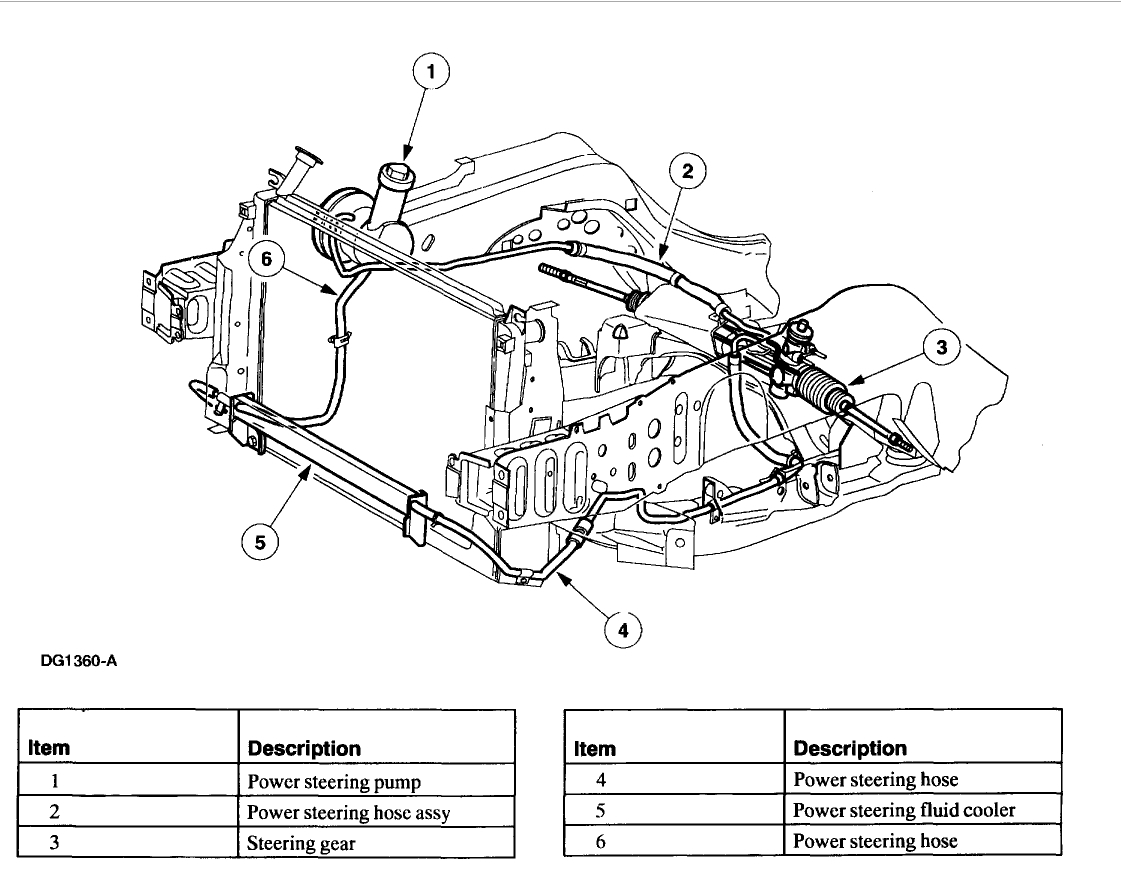 View 2000 Ford Windstar Steering Column Diagram Background