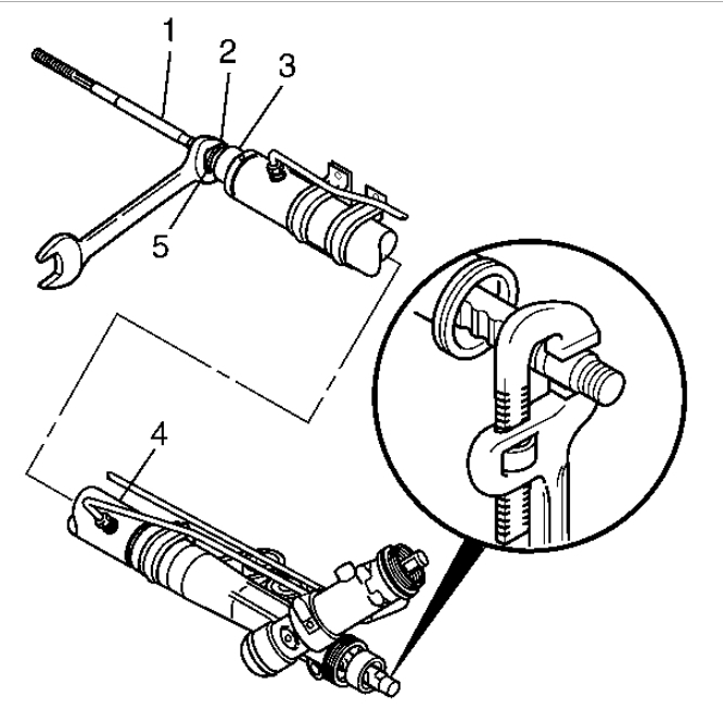 how to proceed inner rear tie rod end