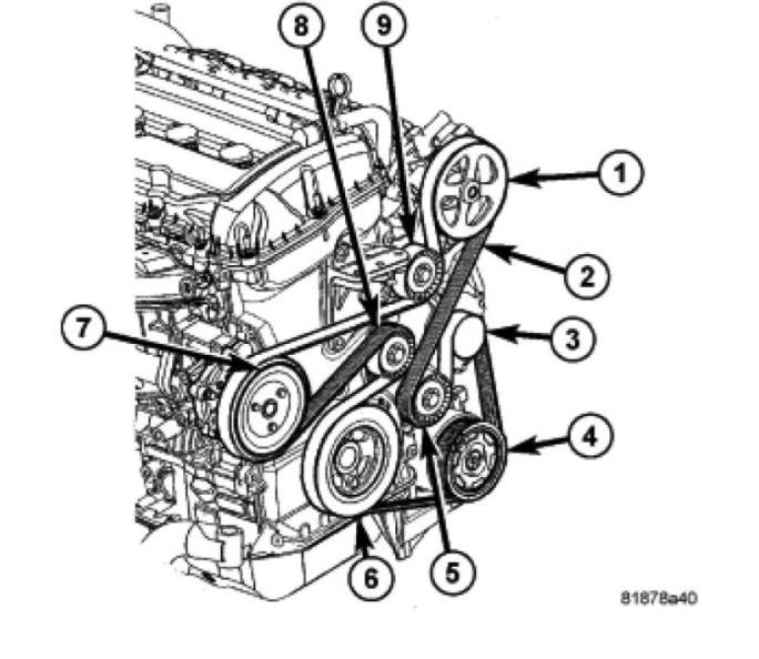 dodge 3 6 engine diagram for 2014
