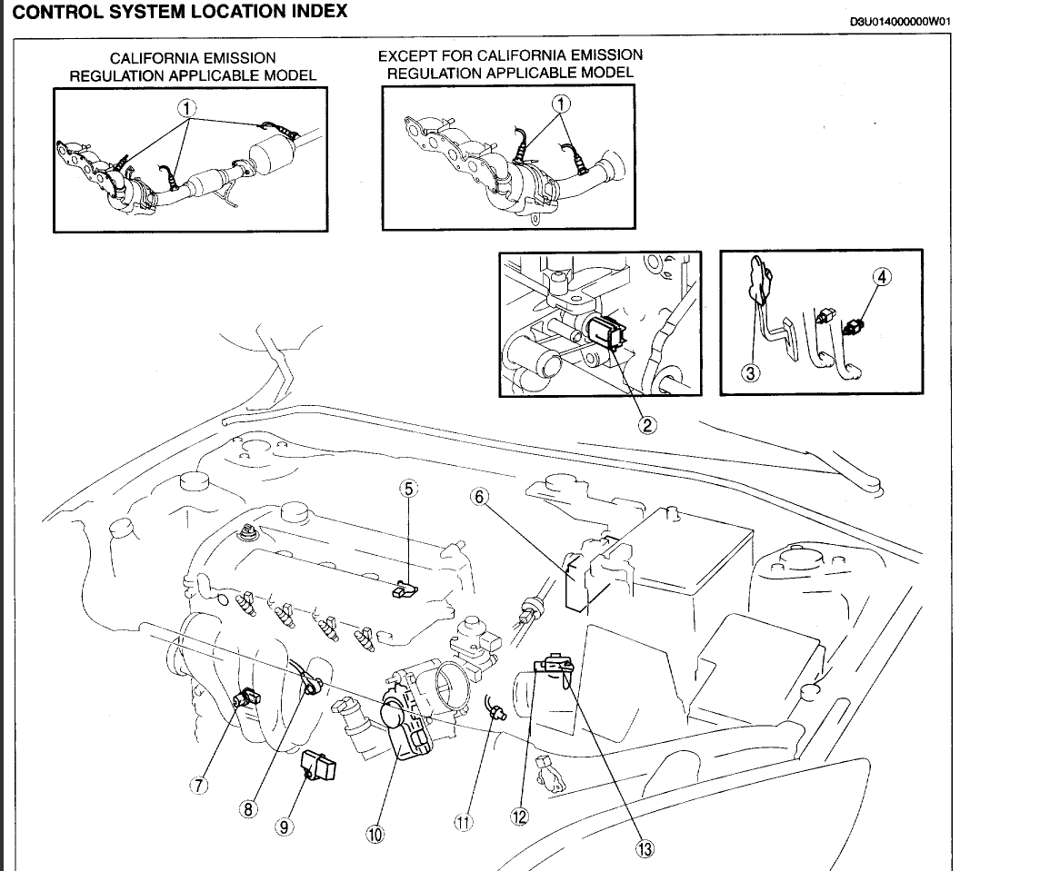 Radiator Fan Failure Engine Cooling Problem 4 Cyl Front Wheel 2007 Mazda 3 Wiring Diagram Sensors Thumb