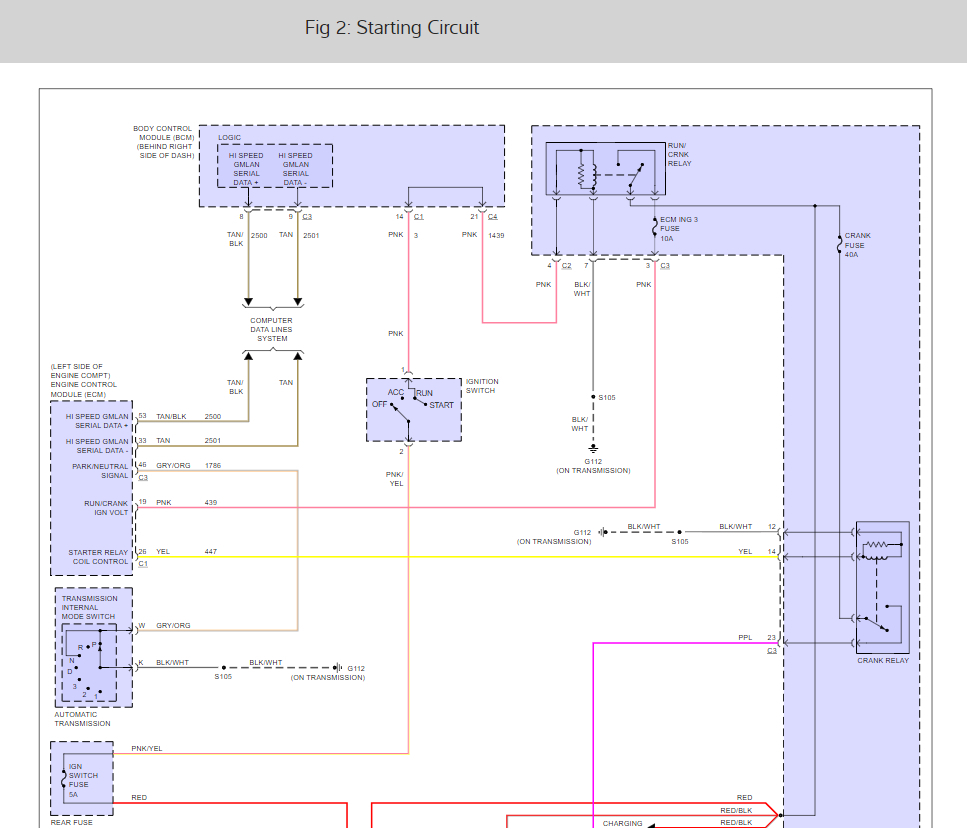 Location Of Starter Relay I Have A Code That Keeps Popping Up 2000 R6 Wiring Diagram Thumb