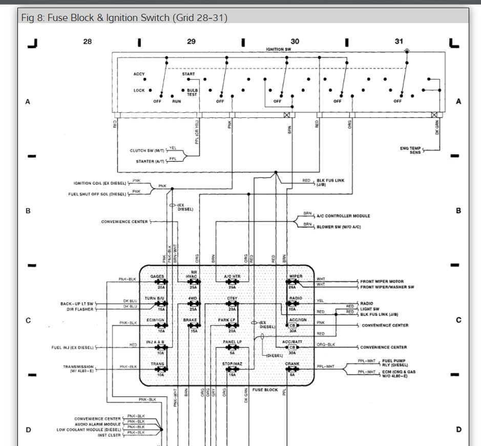 Heater Ac Wiring Diagram On 1997 Chevy Ke Light Wiring Diagram