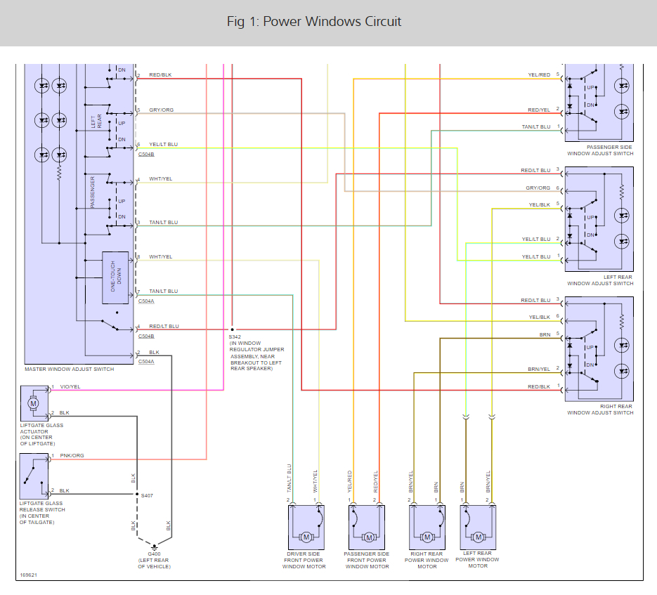 Mercury Mountaineer Window Wiring Diagram Free For 2007 Power Windows Not Working Electrical Problem 2003 Rh 2carpros Com 2002 Radio