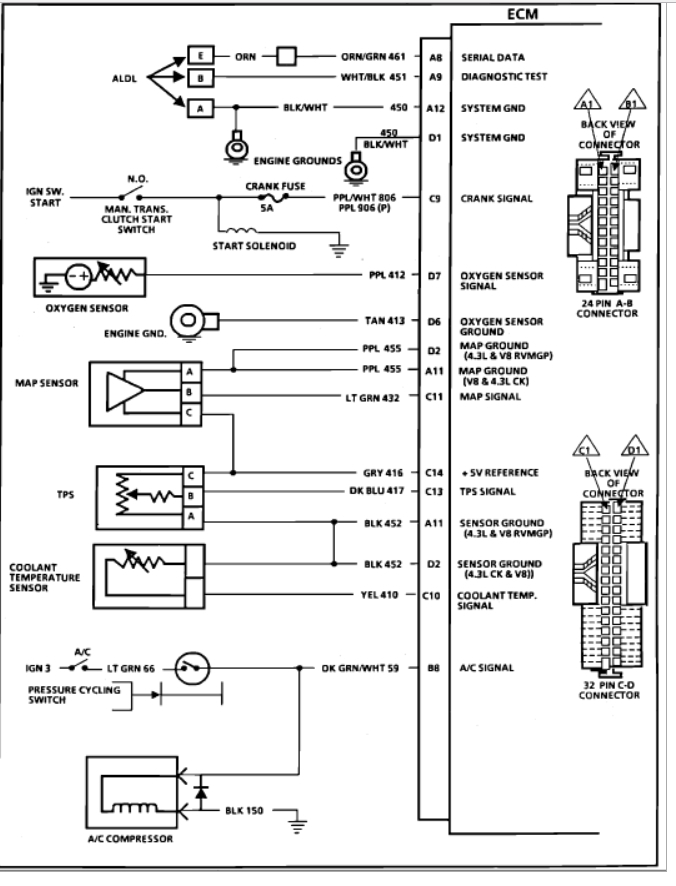 Thumb: 1992 K1500 Fuel Injector Wiring Diagram At Eklablog.co