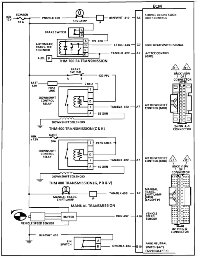 wiring diagram 1989 jeep wrangler laredo fuel injectors do not spray: v8 two wheel drive automatic ... #15