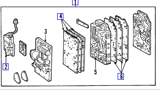 What Transmission Do I Have >> Shift Solenoid Replacement: Hi All, I Am Hoping to Change the ...