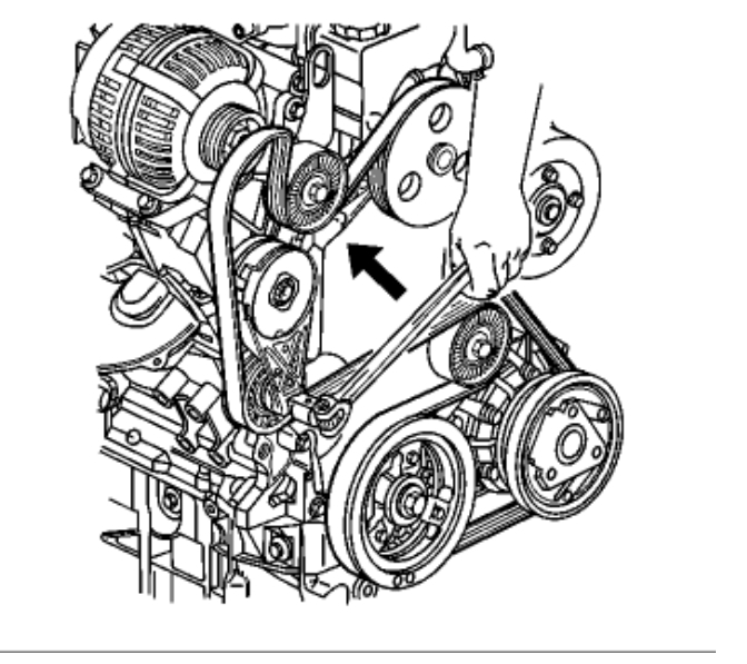 serpentine belt replacement engine mechanical problem 6 cyl front rh 2carpros com 2002 Buick Rendezvous Parts Diagram 2005 Buick Rendezvous Recalls