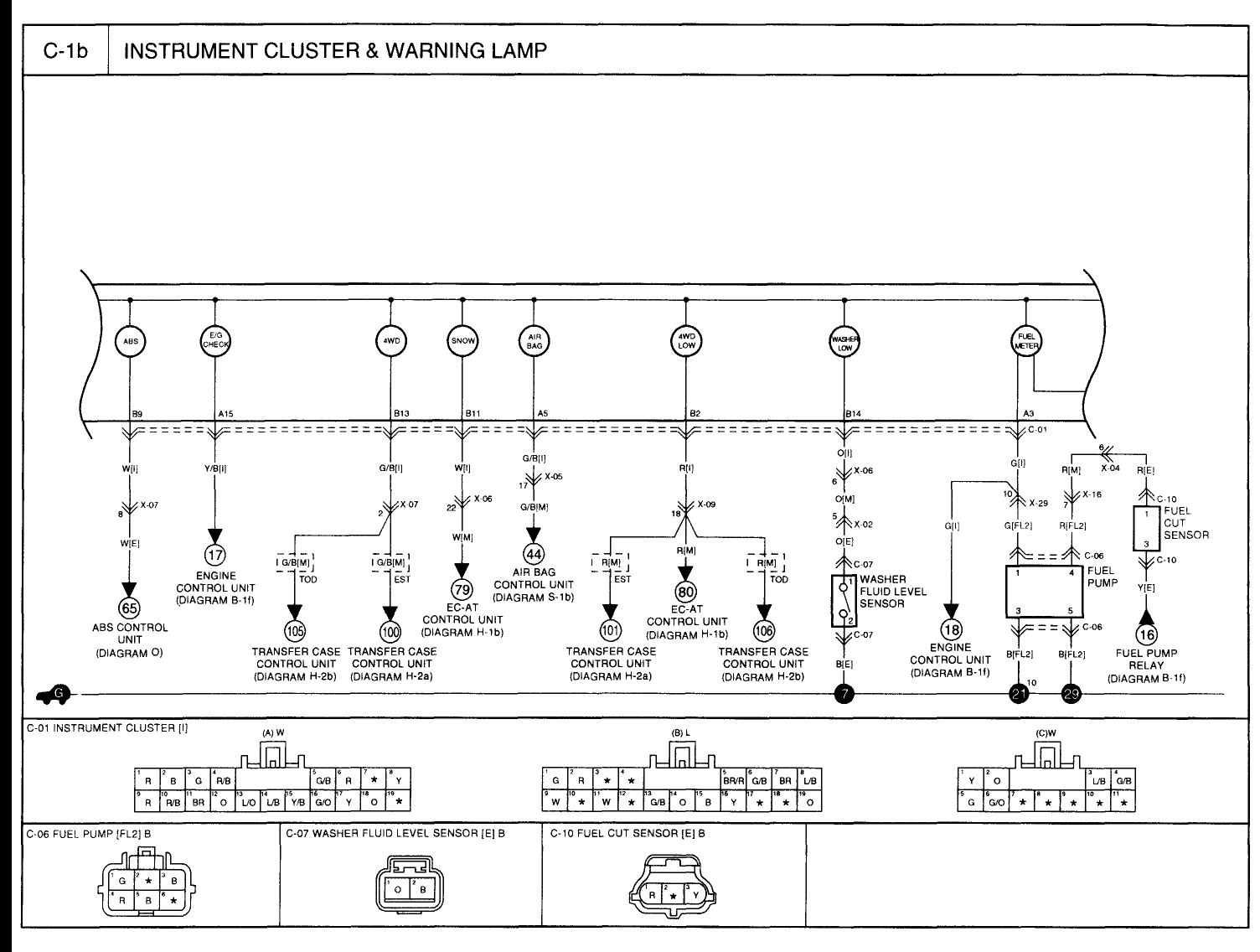 2006 Kia Spectra Fuel Pump Wiring Diagram
