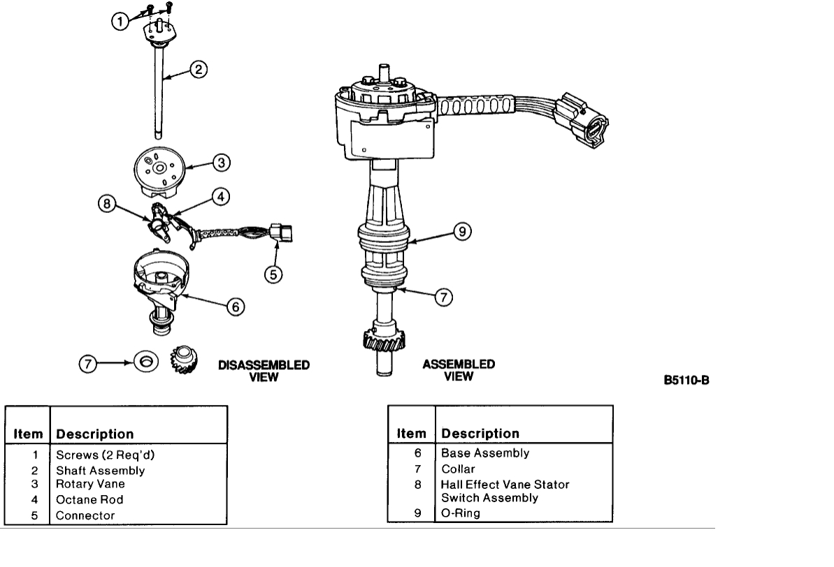 Crankshaft Position Sensor Location Where Is The Wiring Harness Diagram For 1995 Ford 1500 Thumb