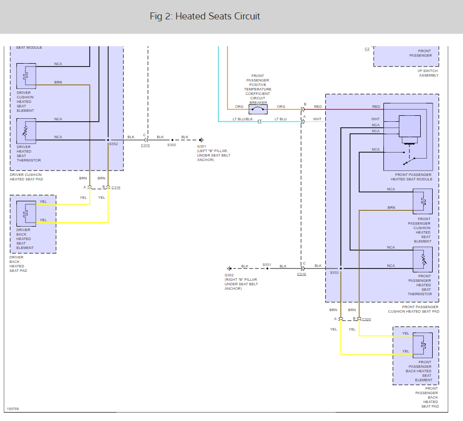 Heated seats wiring diagram for buick library