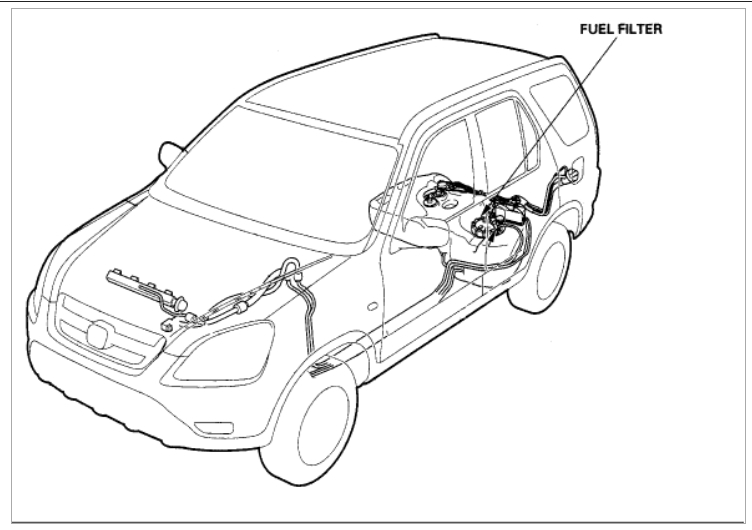 2004 Honda Element Fuel Filter | Wiring Diagram