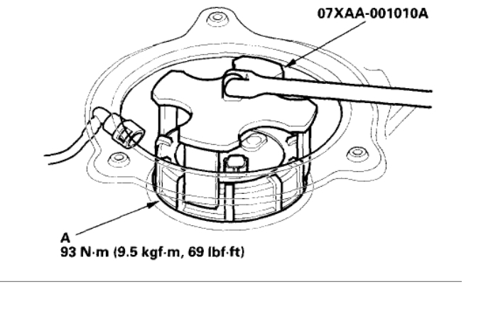 96 honda accord fuel filter location