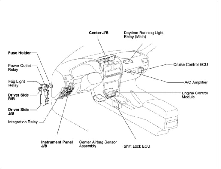 original 01 toyota corolla fuse box 01 wiring diagrams collection Toyota T100 Rear Differential at n-0.co