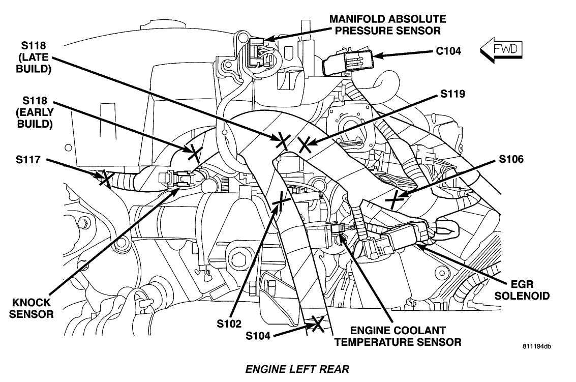 install chrysler 300 2 7 engine diagram knock sensor