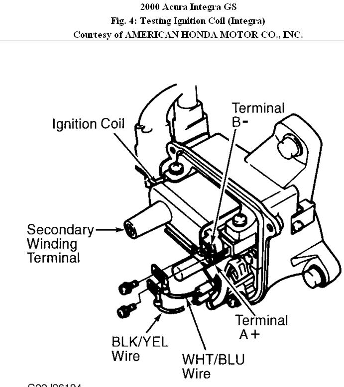 Acura Spark Plug Wire Diagram Electrical Circuit Electrical Wiring