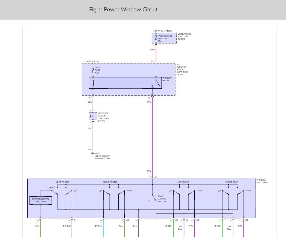 Power Window Motor Keeps Running My S10 Wiring Diagram Thumb