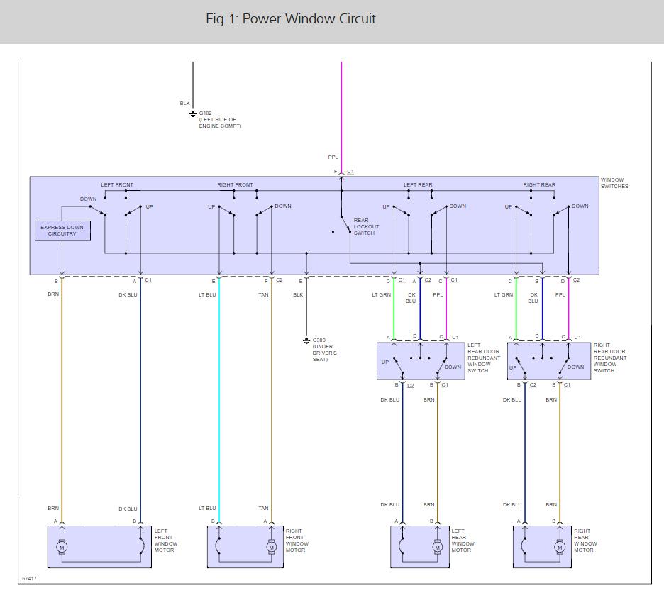 2000 Saturn Power Window Wiring Diagram Detailed Diagrams L100 Motor Keeps Running My 2003 L200