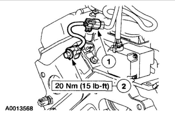 Knock Sensor Location Engine Mechanical Problem 6 Cyl Two Wheel Rh2carpros: Ford Knock Sensor Location At Gmaili.net