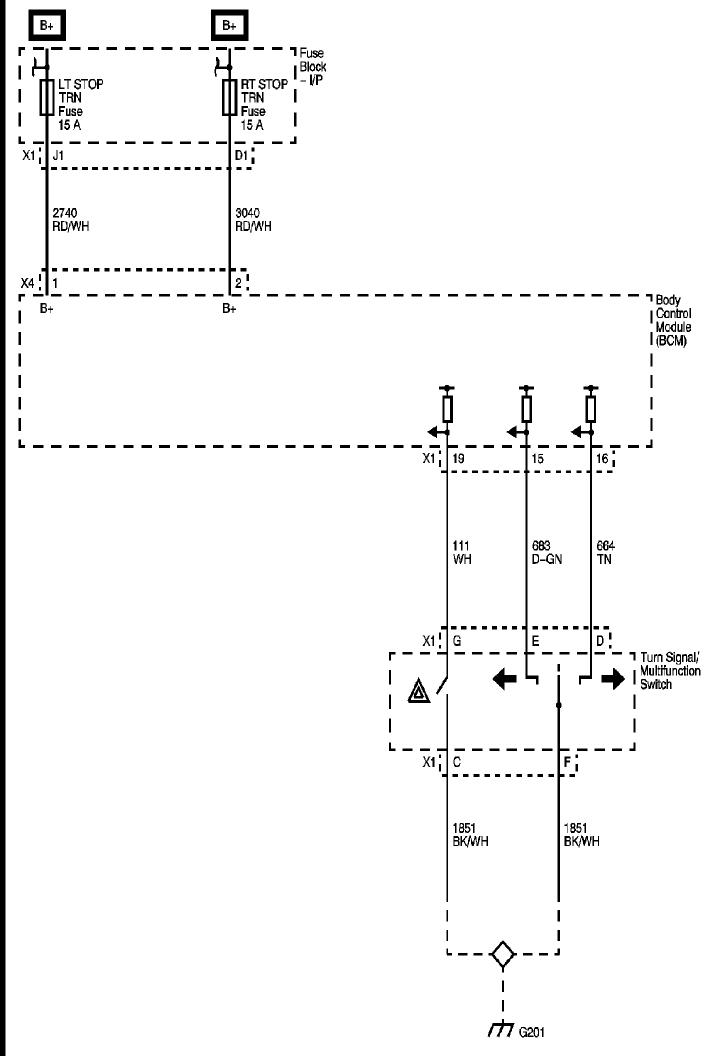 Wiring Diagram Of Turn  Brake  Wiper Multi