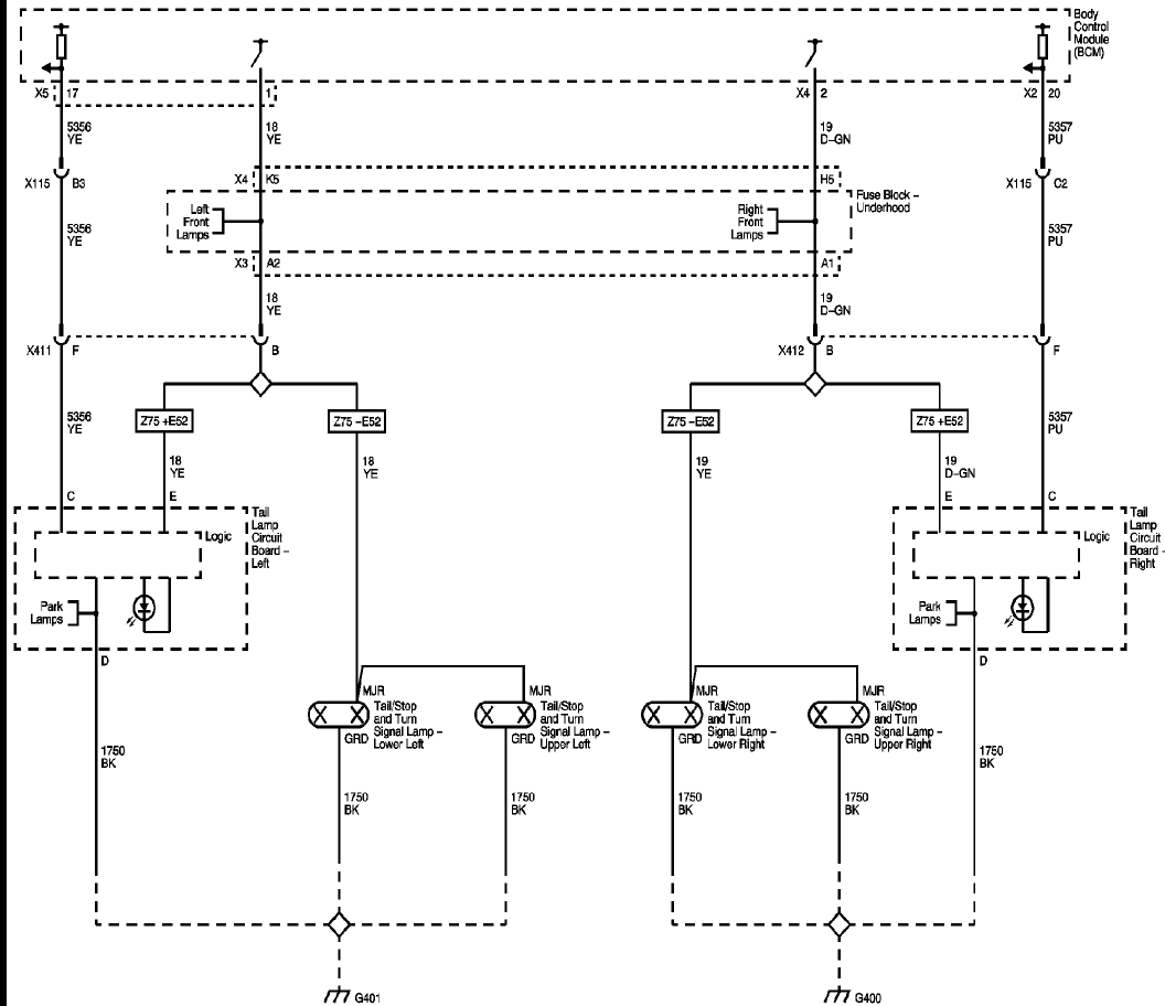 Wiring       Diagram    of Turn   brake   wiper Multifunction Switch