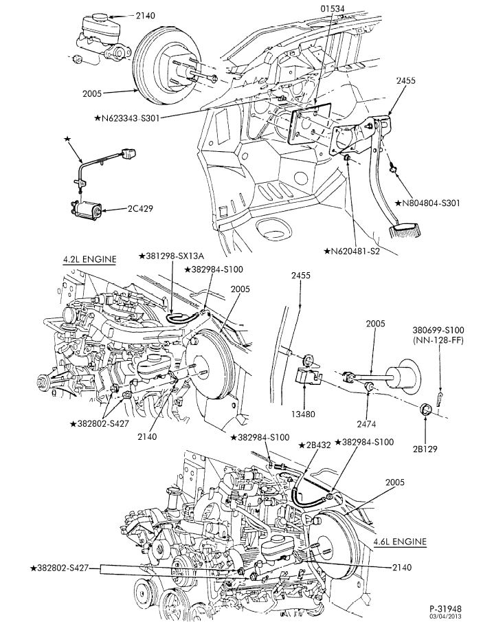 Ford F700 Brake Diagram