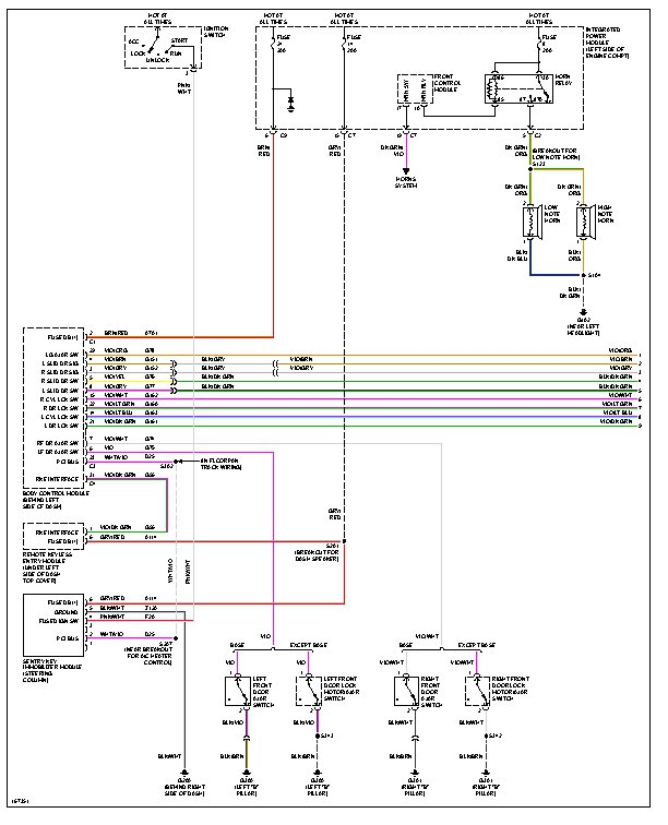 2003 Chrysler Town And Country Wiring Diagram Wiring Diagram