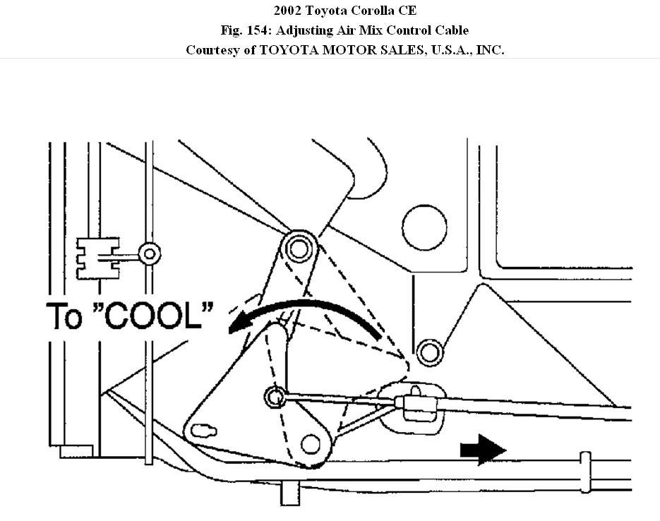 Heater In Toyota Corolla Does Not Work. Toyota. 1998 Toyota Corolla Heater Core Diagram At Scoala.co