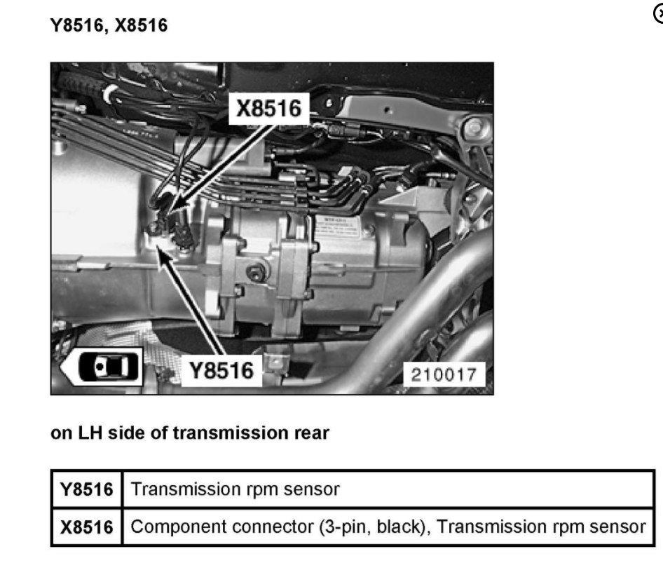 Transmission Malfunction Message: Transmission Problem 6 Cyl