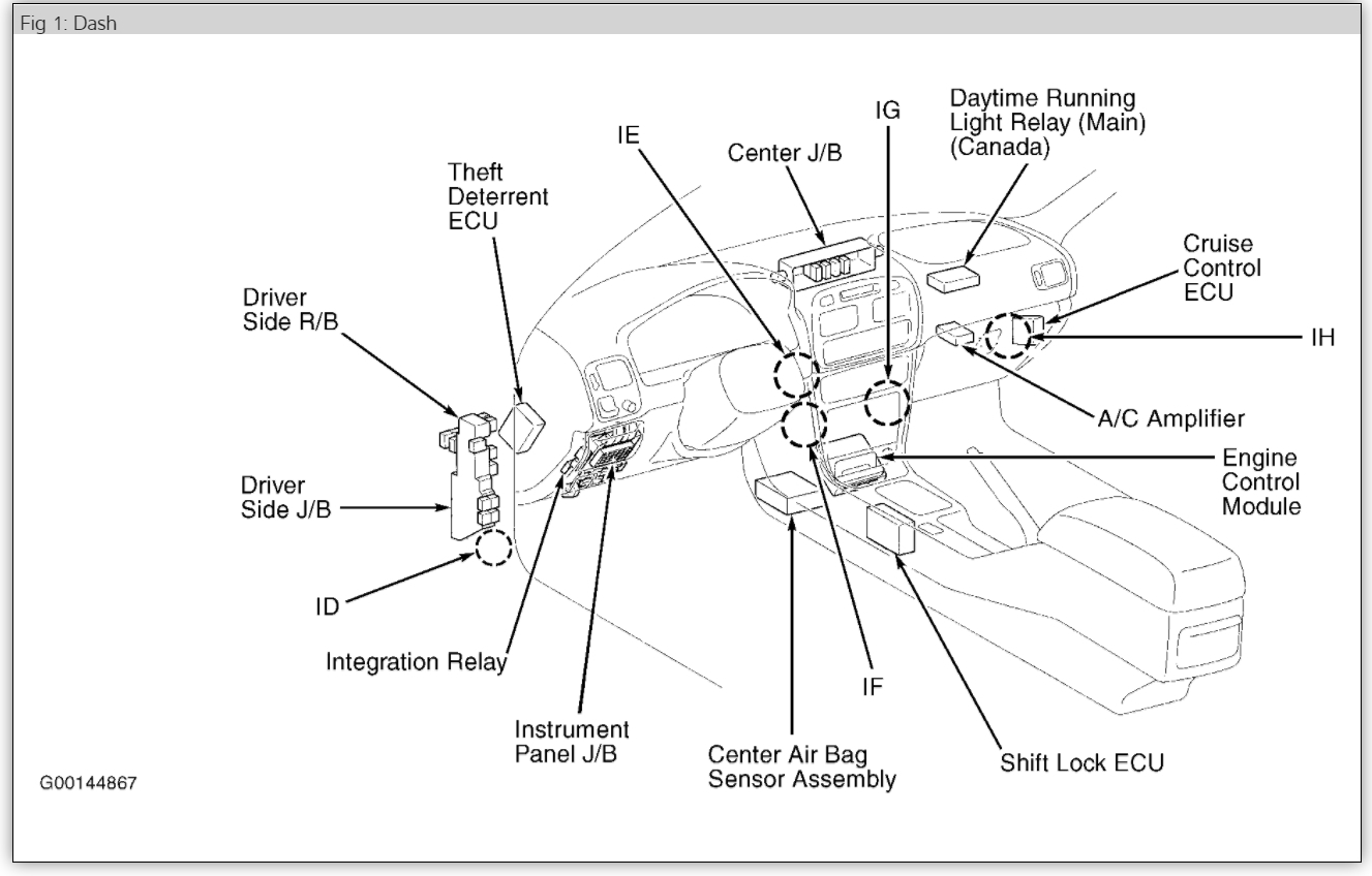 toyota side marker light wiring diagrams
