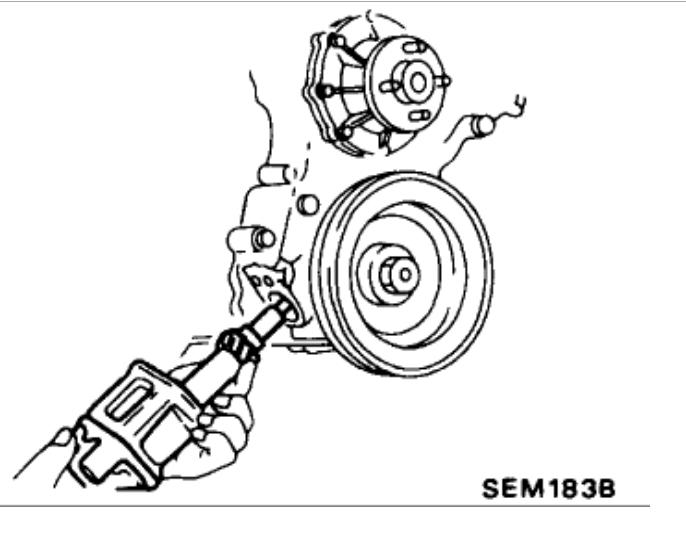 Cam Timing: I Have a 1991 Nissan Truck W/ 2 4L (ka24e)engine  I