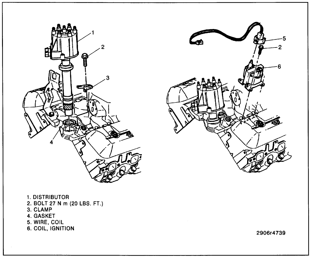Distributor How To Remove Replace The Pickup Coil In 1998 Dodge Ram 1500 Cap Wiring Diagram Thumb