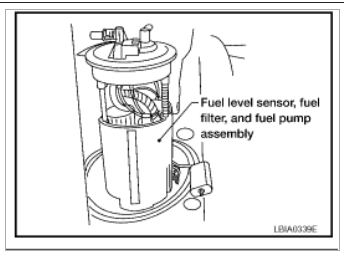 fuel filter location engine performance problem 4 cyl front wheel Air Filter